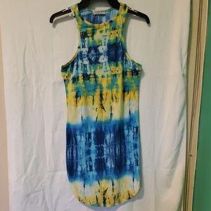 Fashion Nova Tie Dye Dress